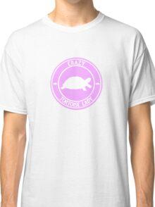 Crazy Tortoise Lady (Pink) Classic T-Shirt