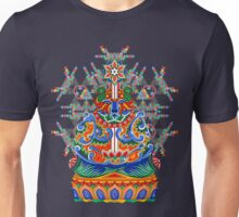 Meditating bear Unisex T-Shirt