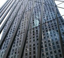 CHRYSLER BUILDING REFLECTION by elatan