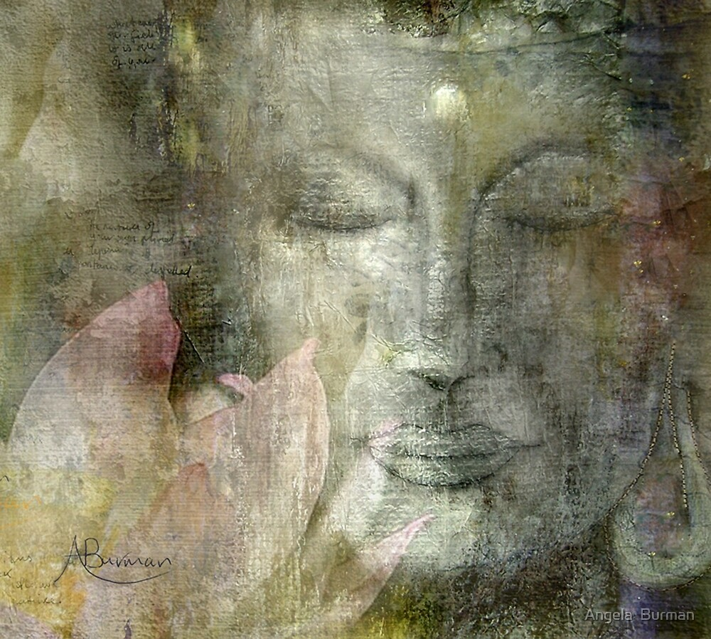 Buddha by Angela  Burman