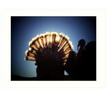 A Turkeys Sunrise Art Print