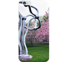 Enchanting Pink and Silver Trees iPhone Case/Skin