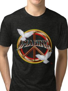 PEACE / MAGINE Tri-blend T-Shirt