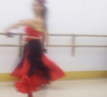 Dancer In Motion by Mary Alice Franklin