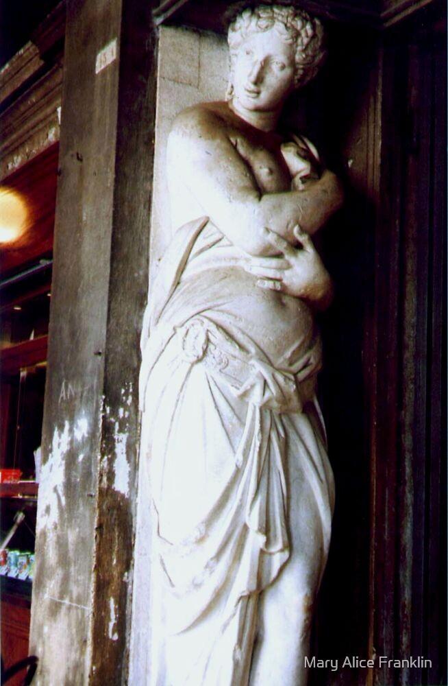 Venice Statue by Mary Alice Franklin