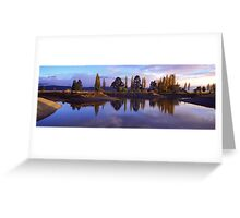 Te Anau morning Greeting Card