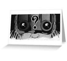 night vision goggles Greeting Card