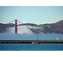 By the beautiful bay Photographic Print