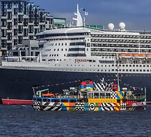 The Queen and the Dazzle Ferry by Paul Madden