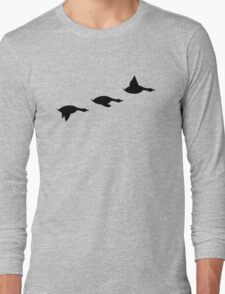 Duck Flight Long Sleeve T-Shirt