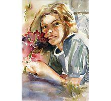 Gwen my Daughter Photographic Print