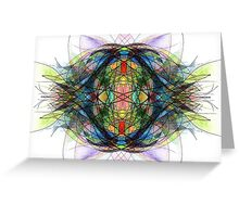 Water Element Greeting Card