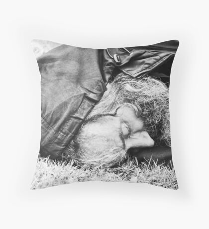 down, but not out (no: 17) Throw Pillow
