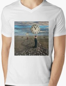 The End of Time Mens V-Neck T-Shirt