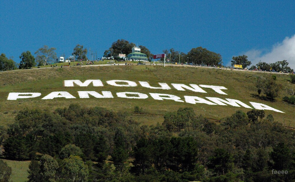 Mt Panorama by feeee