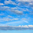 Cotton wool clouds by Dave Hare
