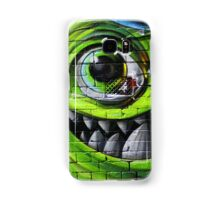 Mike Wazowski from Monsters Inc - Hosier Lane, Melbourne Samsung Galaxy Case/Skin