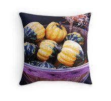 Baby Pumpkins Throw Pillow