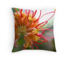 Grevillea Flower Throw Pillow