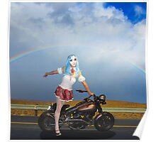 Somewhere, over the rainbow... / Irgendwo uber dem Regenbogen Poster