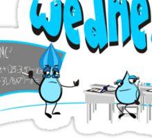 Days of the week - Wednesday Sticker
