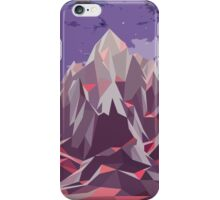 Night Mountains No. 6 iPhone Case/Skin