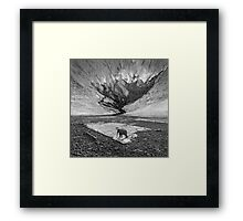 One Two Tree Framed Print