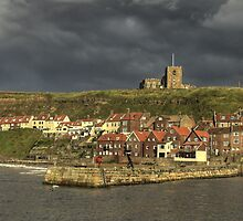 Harbour Light - Whitby, North Yorkshire by MartinWilliams
