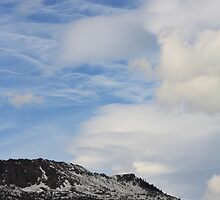 Mountain Range in the Sky by Alyce Taylor