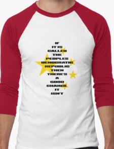 Peoples Democratic Republic Men's Baseball ¾ T-Shirt