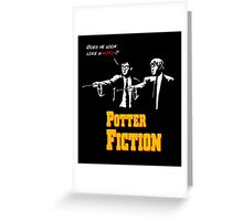 Potter Fiction Greeting Card