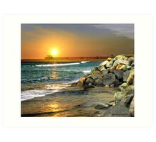 Loved by the Sun (Art & Poetry) Art Print