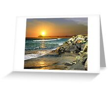Loved by the Sun (Art & Poetry) Greeting Card