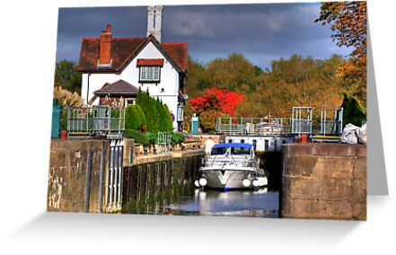 Goring Lock - HDR by Colin J Williams Photography