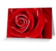 Rose sparkle! Greeting Card