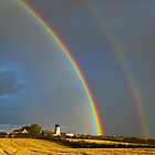 The old Hart mill rainbows by Kane Young