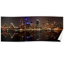 Sydney Skyline (best viewed large) Poster