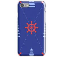 Lighthouse pattern iPhone Case/Skin