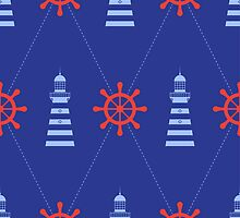 Lighthouse pattern by maralingstad