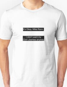 Civil Liberties SA Unisex T-Shirt