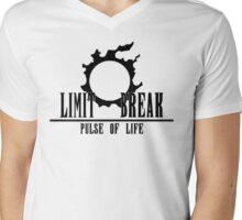 FFXIV - Limit Break Healer (Black) Mens V-Neck T-Shirt