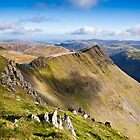 Striding Edge - Helvellyn by David Lewins