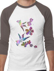 Birds. Men's Baseball ¾ T-Shirt