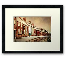 Heading Home For Christmas Framed Print