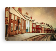 Heading Home For Christmas Canvas Print