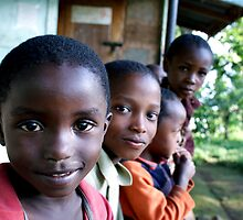 Curious - Mshiri Village, Tanzania by timstathers