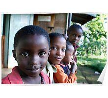 Curious - Mshiri Village, Tanzania Poster