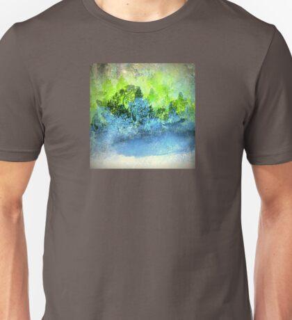 The Blue Pond Landscape Design Unisex T-Shirt