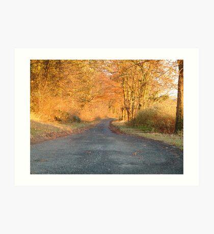 Autumnal North Yorkshire Art Print