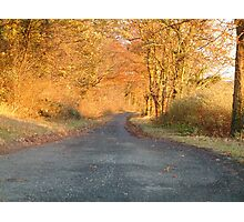 Autumnal North Yorkshire Photographic Print